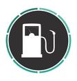 Gas station computer symbol vector image vector image