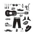Hipster Clothing and Accessories Collection vector image