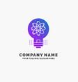 idea innovation light solution startup purple vector image