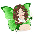 magical fairy vector image vector image
