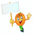 pumpkin boy vector image vector image