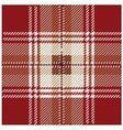 Red Seamless Tartan Plaid Pattern Design vector image