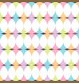 seamless creative pattern - colorful design vector image