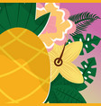 summer time tropical vector image vector image