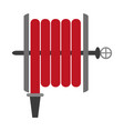 fire hose icon image vector image