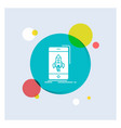 game gaming start mobile phone white glyph icon vector image vector image