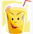 juice drink vector image vector image