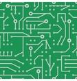 printed circuit seamless pattern vector image