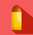 single cartridge icon flat style vector image