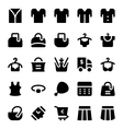 Clothes Icons 14 vector image vector image