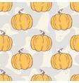 Hand drawn halloween pumpkins seamless pattern vector image vector image
