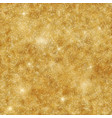 holiday gold glittering background for shimmer vector image vector image
