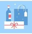 holidays shopping vector image