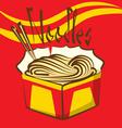Macaroni vector image