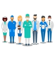 Medical team Hospital staff vector image
