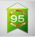 ninety five years anniversary celebration design