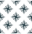 Seamless pattern with nautical compasses vector image vector image