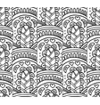 abstract a seamless pattern vector image vector image