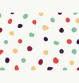 abstract of free shape colorful dot pattern vector image vector image