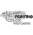are postcards worth their price text word cloud vector image vector image