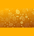 background of easter symbols vector image vector image