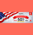 happy celebrating independence day for sale vector image vector image