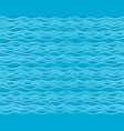 seamless background with blue sea vector image