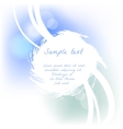 Soft grunge design for card vector image