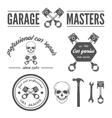 Set of logo badge emblem and logotype element vector image