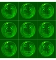 digital smiles vector image vector image