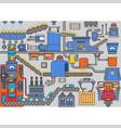 industrial processes mechanism potato chip vector image
