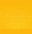 yellow hexagon texture vector image vector image