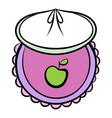 babib icon cartoon vector image