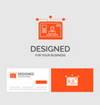 business logo template for interface website user vector image vector image
