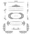 frame and decor vector image vector image
