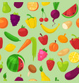 fruits vegetables healthy nutrition vector image