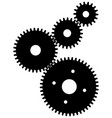 gears for teamwork symbolism vector image
