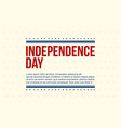 happy independence day celebration collection vector image vector image
