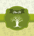 Olive oil design vector image vector image