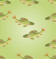 Seamless texture salmon grayling carnivore vector image vector image