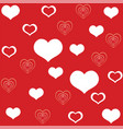 seamless valentines day pattern 7 vector image vector image