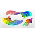 stock multicolored realistic vector image vector image
