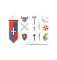 Knights symbols vector image