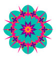 decorative colored mandala vector image