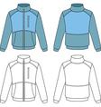 Man sports jacket vector image
