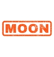 Moon Rubber Stamp vector image vector image