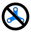 no spinner icon vector image