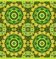 oriental beautiful ornament mandala seamless vector image vector image