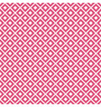 pink rhombus geometric seamless pattern vector image vector image