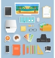 Program for design and architecture vector image vector image